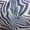 Black on Natural Zebra Print Milliner's Sinamay